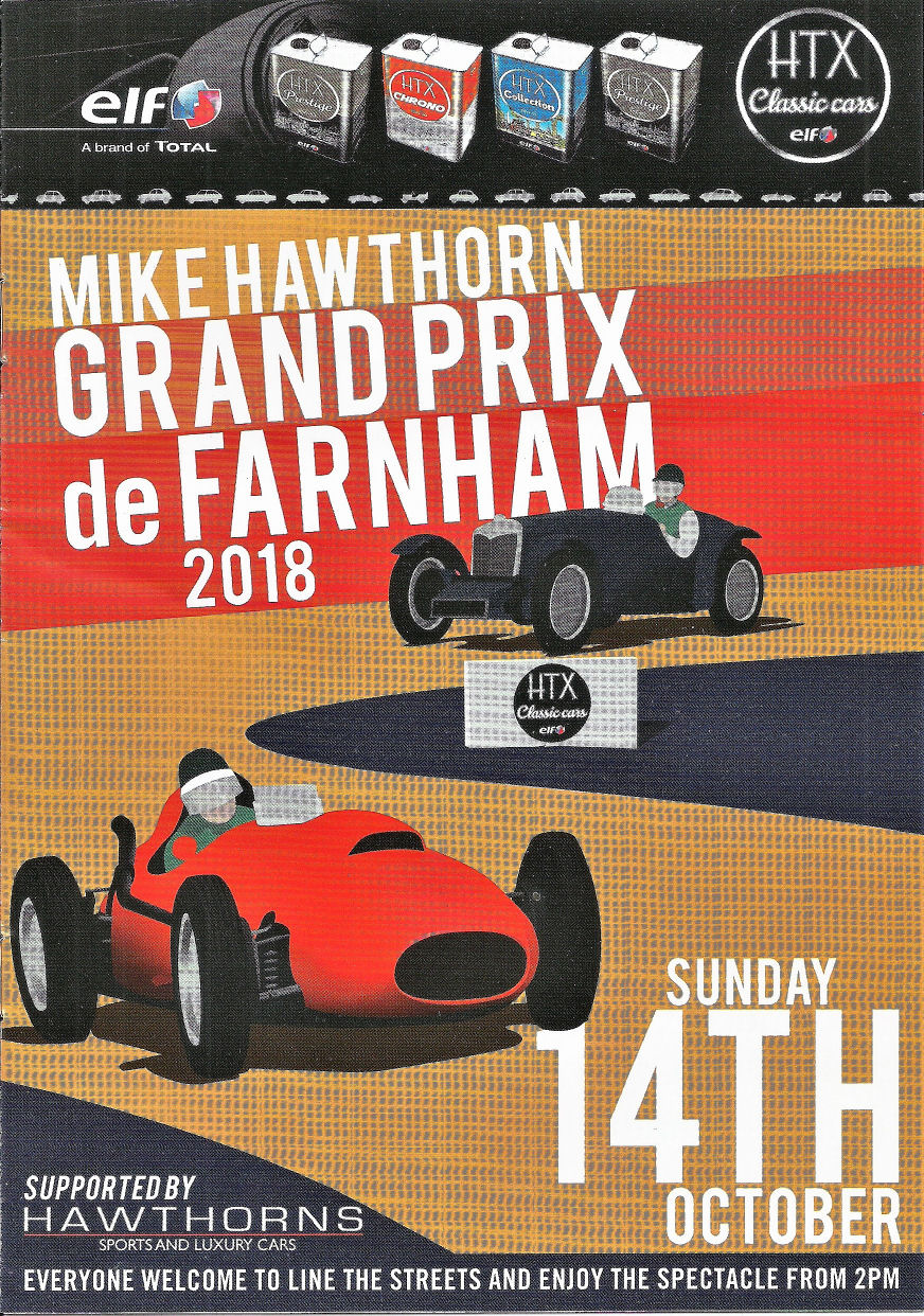 The Grand Prix de Farnham – October 2018
